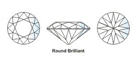 Diamond 4 C 10 round brilliant