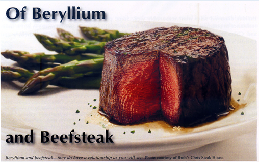 Of Beryllium and Beefsteak 1