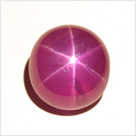 a beautiful star ruby